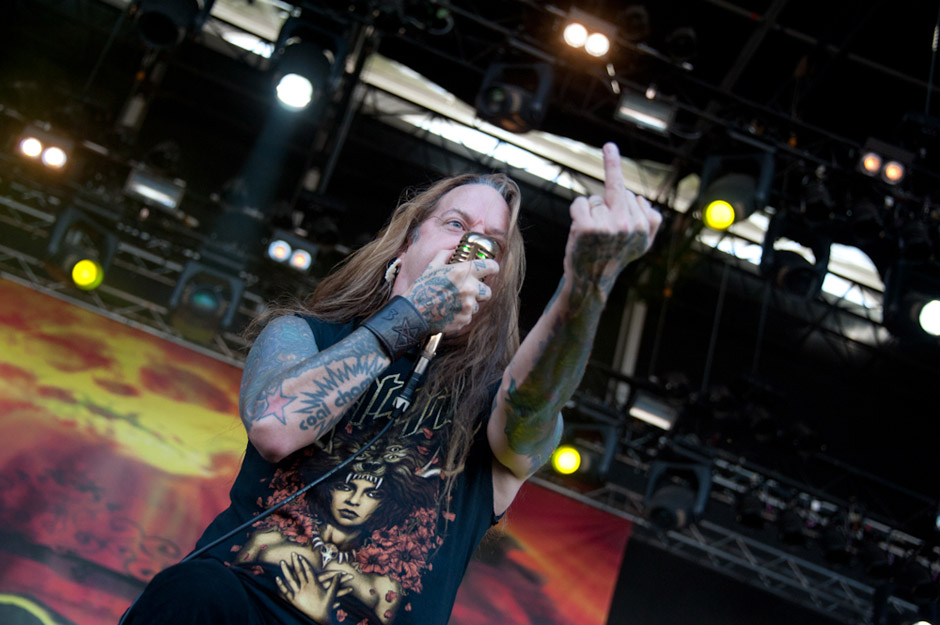 Devildriver live, Summer Breeze 2013