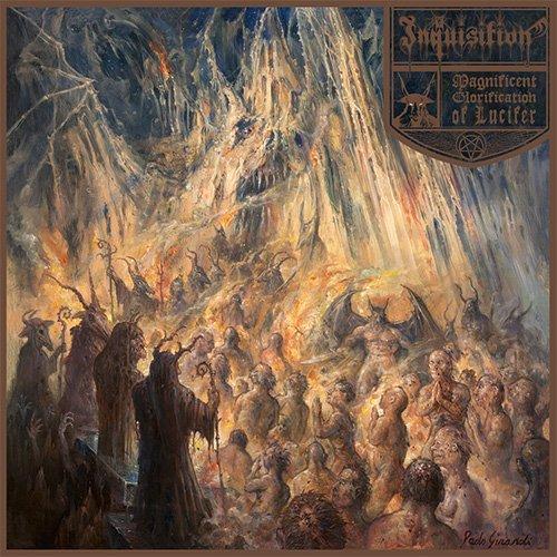 Inquisition MAGNIFICENT GLORIFICATION OF LUCIFER (Wiederveröffentlichung)