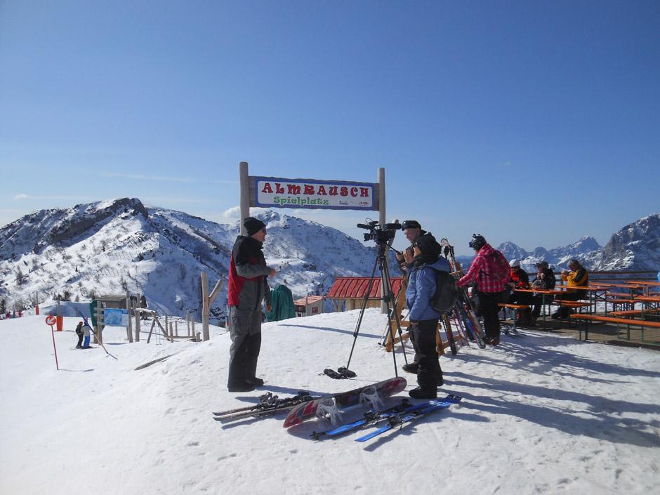 Full Metal Mountain-Gelände am Nassfeld, Kärnten