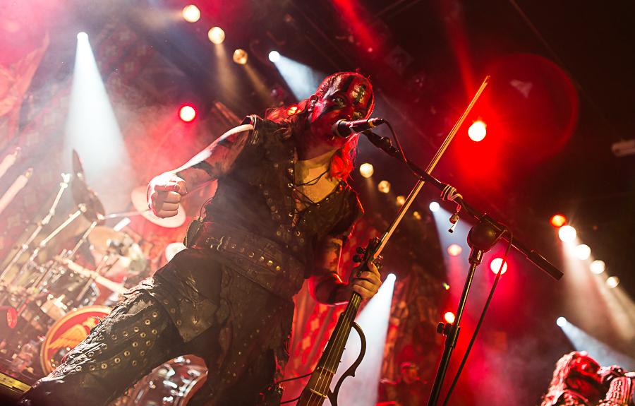 Turisas live, 26.03.2015, Frankfurt