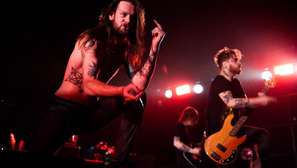 While She Sleeps, live, 01.11.2014, Bochum