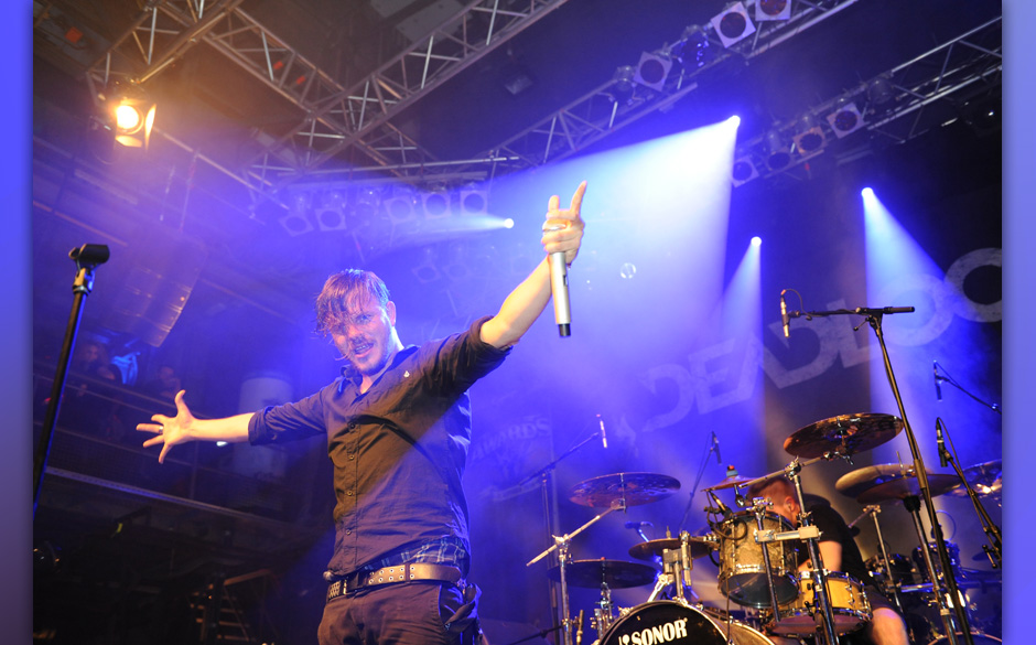 Deadlock live, METAL HAMMER AWARDS 2014