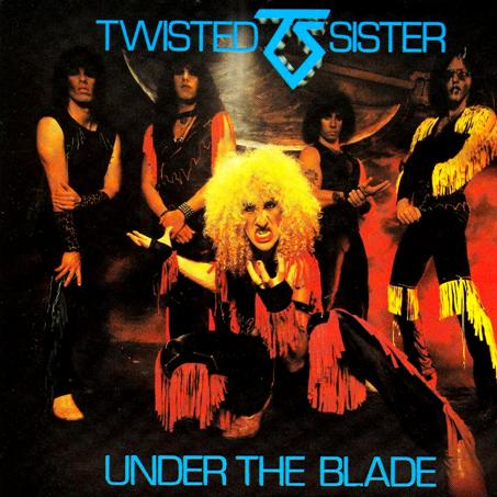 Twisted Sister UNDER THE BLADE (1982)