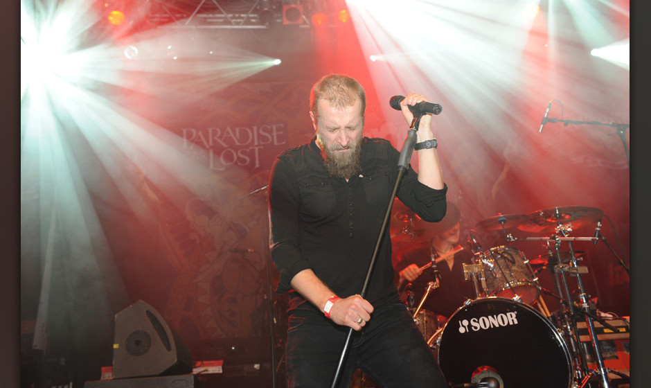 Paradise Lost live, METAL HAMMER AWARDS 2014
