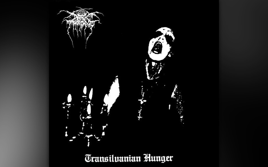 TRANSYLVANIAN HUNGER von Darkthrone sieht aus wie...
