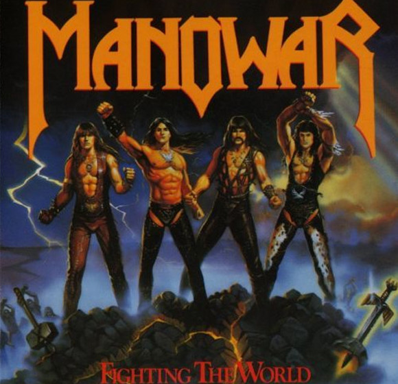 FIGHTING THE WORLD von Manowar sieht aus wie...