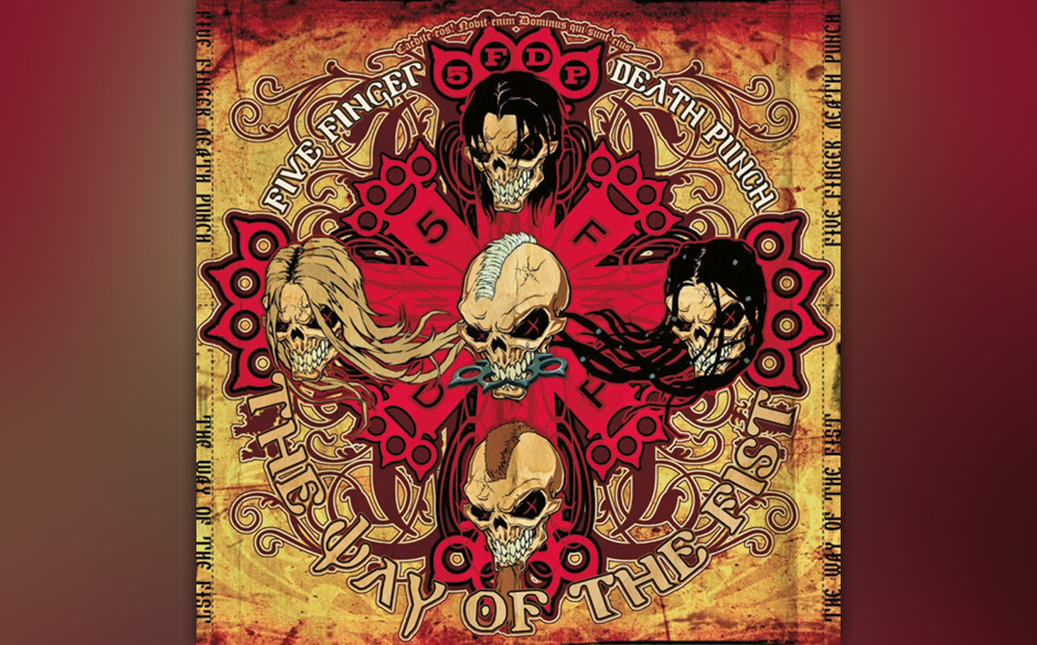 THE WAY OF THE FIST von Five Finger Death Punch sieht aus wie...
