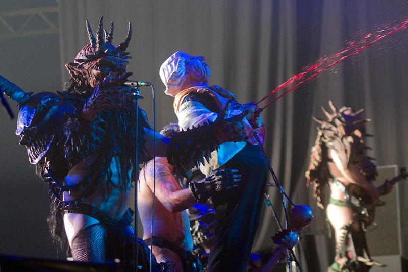 GWAR, Graspop Metal Meeting 2011