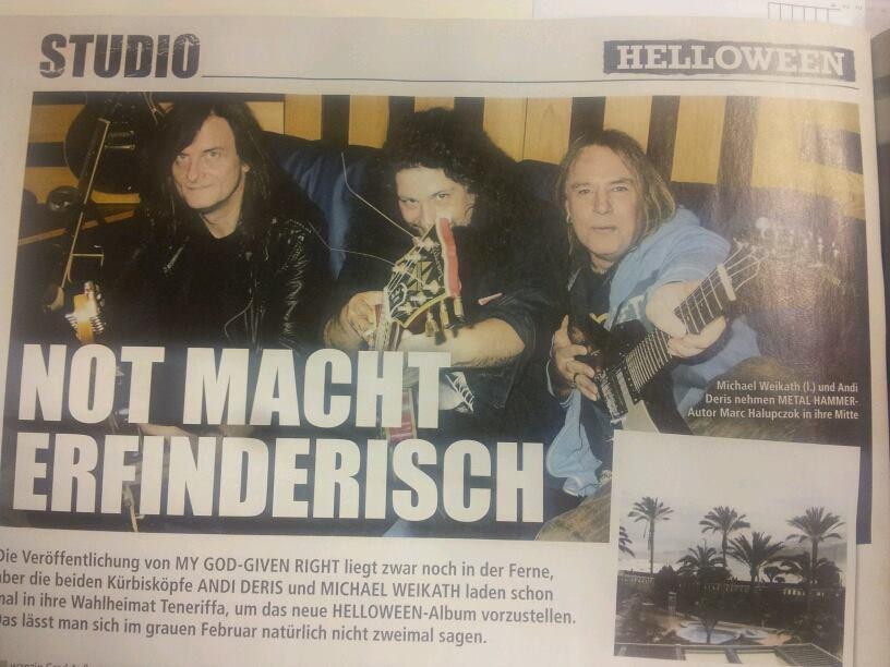 In der Galerie verraten wir euch Song für Song, wie das neue Album von Helloween klingt >>>
