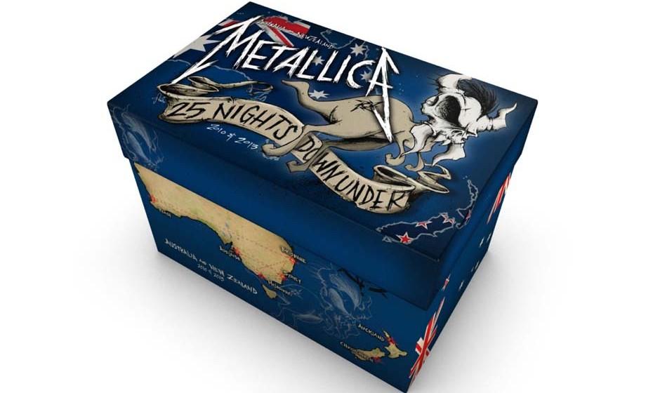 Metallica-Live-Box 25 NIGHTS DOWN UNDER
