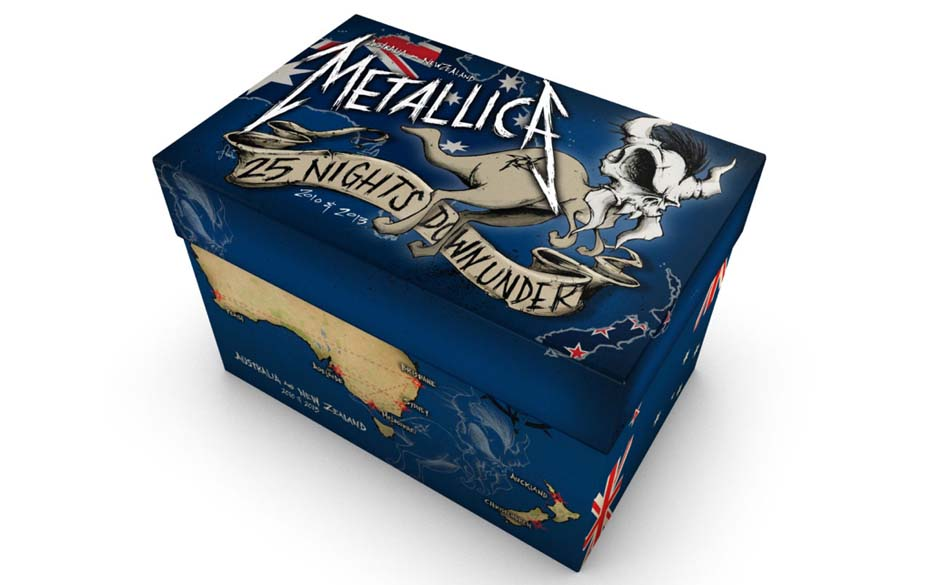 Metallica-Live-Box 25 NIGHTS DOWN UNDER