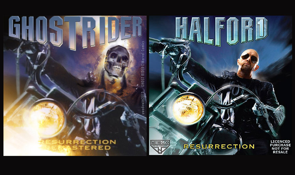 Ghost Rider & Rob Halford RESSURECTION (2001, Remaster-Cover 2006)