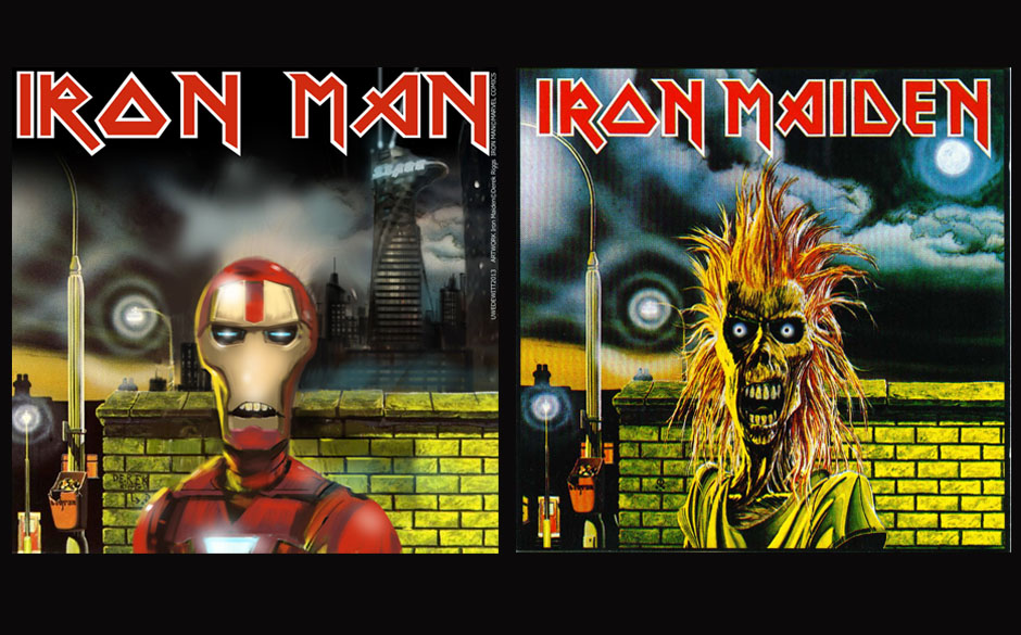 Iron Man & Iron Maiden IRON MAIDEN (1980)