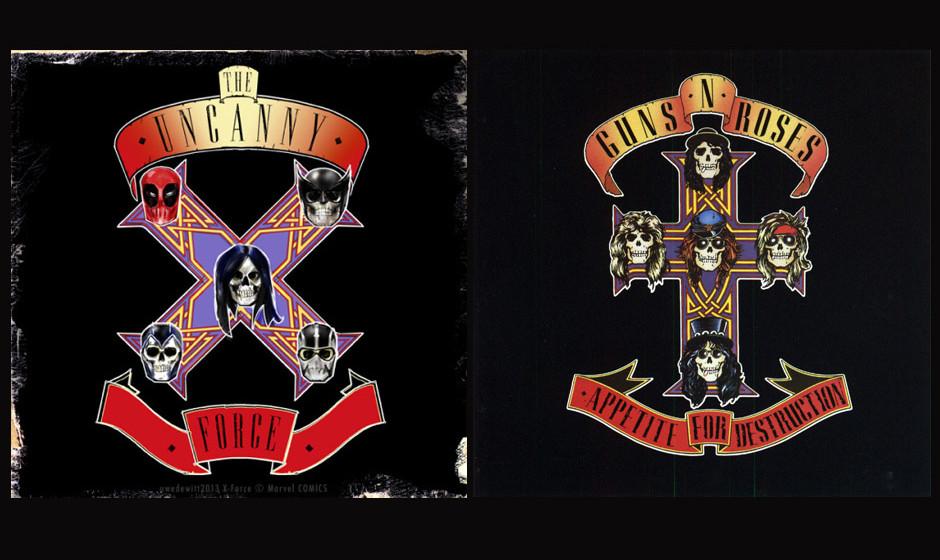The Uncanny X-Force & Guns N' Roses APPETITE FOR DESTRUCTION (1987)