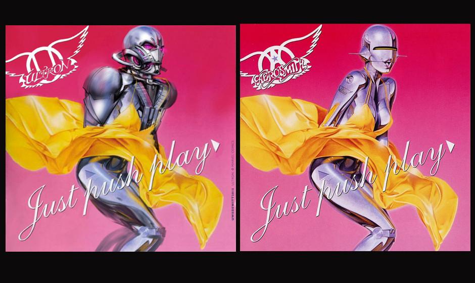 Ultron & Aerosmith JUST PUSH PLAY (2001)