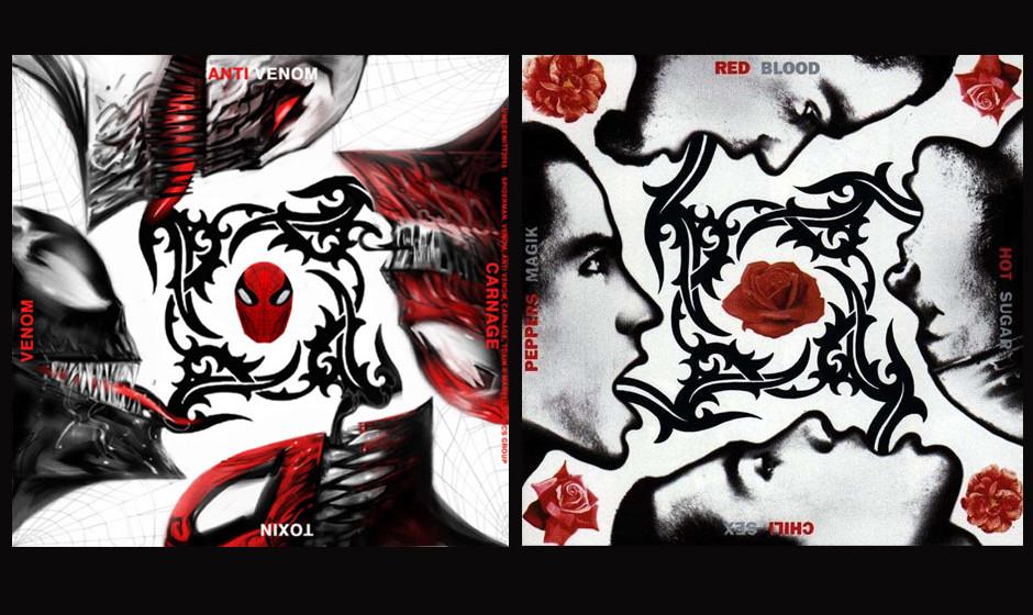 Venom/Anti-Venon/Toxin/Carnage & Red Hot Chili Peppers BLOOD, SUGAR, SEX, MAGIK (1991)