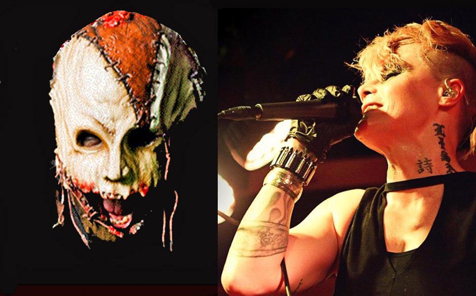 Chad 'Rott' Armstrong (Ex-Terror Universal) & Otep Shamaya (Otep)