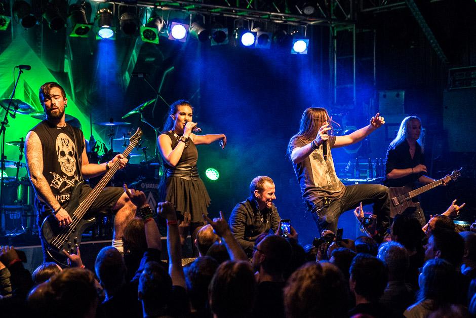Amaranthe live, 01.04.2015, München