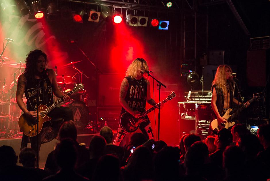 Santa Cruz live, 01.04.2015, München