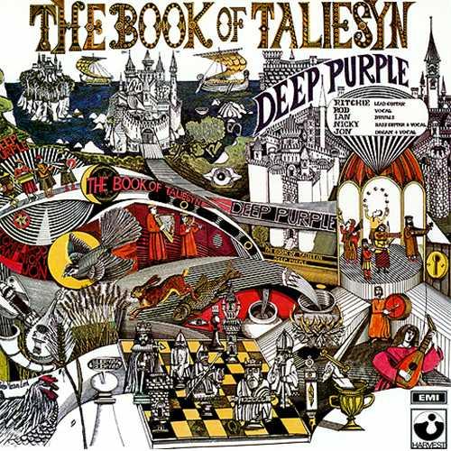 Deep Purple BOOK OF TALIESYN – (vermutlich) bisher unveröffentlichter Mono-Mix, weißes Vinyl