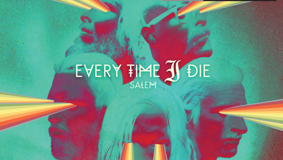 """Everytime I Die SALEM EP – 7"""", vier Songs, 2 unveröffentlichte Songs, braunes, rotes, klares und farbriges Vinyl"""