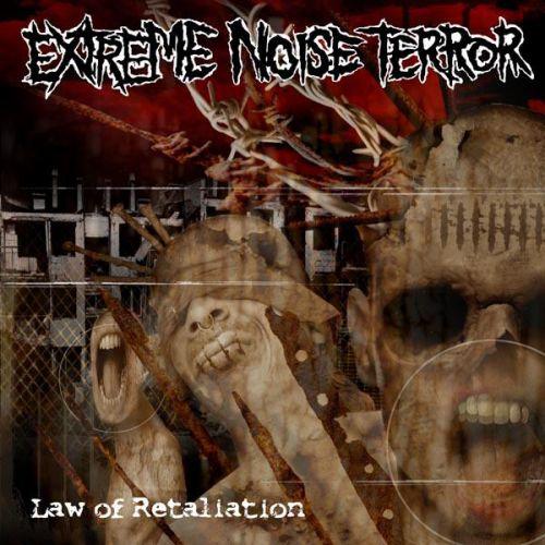 Extreme Noise Terror LAW OF RETALIATION - 100 St., handnummeriert, durchsichtiges Vinyl