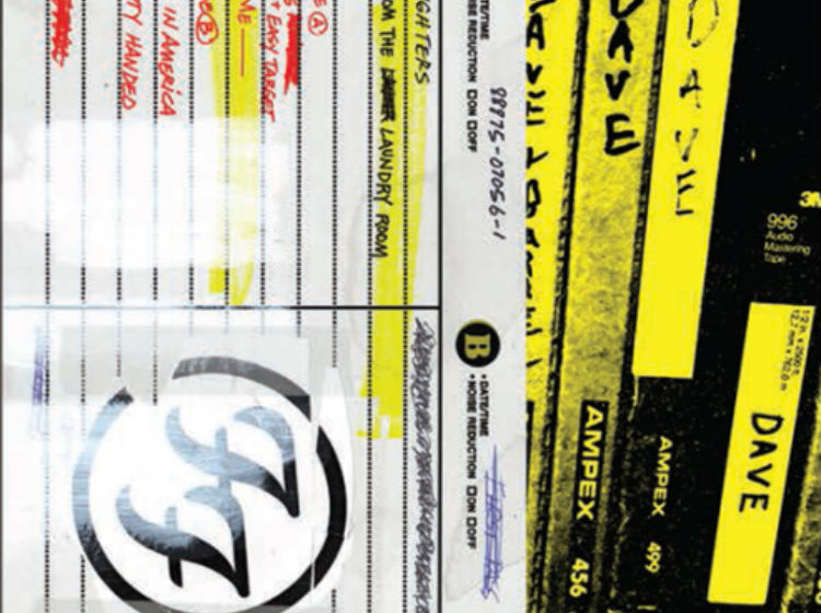 """Foo Fighters SONGS FROM THE LAUNDRY ROOM 10"""", 4 Live-Songs"""