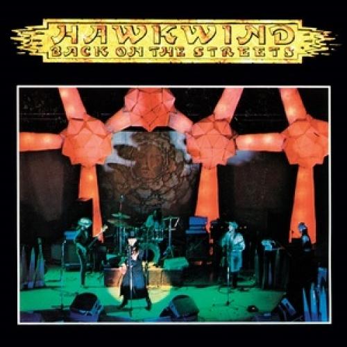 Hawkwind BACK ON THE STREETS/THE DREAM OF ISIS - remasterede Wiederveröffentlichung der Picture Disc von 1977, weißes Vinyl