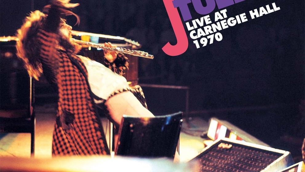 Jethro Tull LIVE AT CARNEGIE HALL – scharzes Gatefold-Doppel-Vinyl, neues Artwork