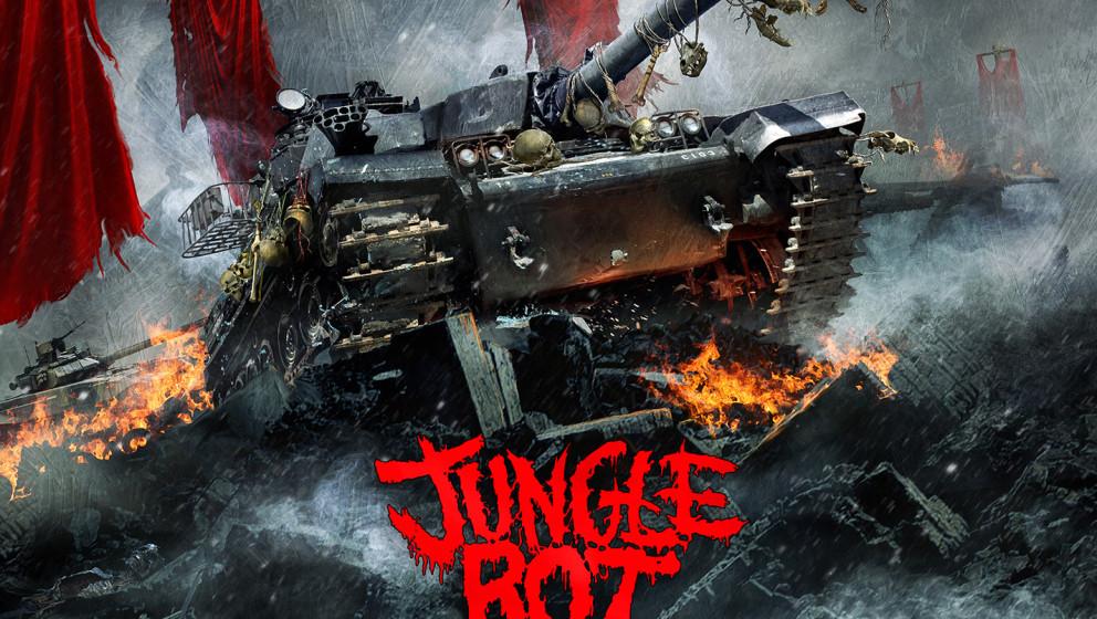 Jungle Rot TERROR REGIME - limitiertes, blaues Vinyl