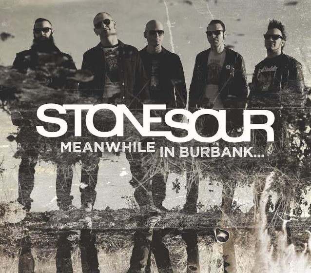 Stone Sour MEANWHILE AT BURBANK... 5 Cover-Songs, schwarzer Vinyl