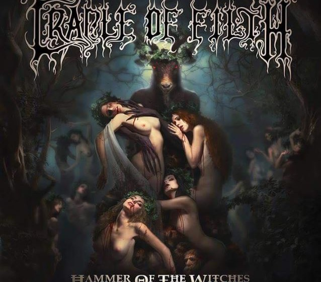 Artwork zum Cradle Of Filth Album HAMMER OF THE WITCHES