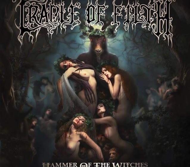 Artwork zum Cradle Of Filth Album HAMMER OF THE WITCHES