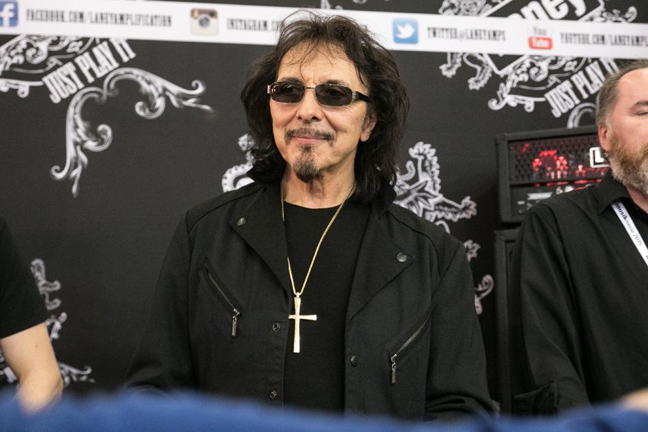 Tony Iommi (Black Sabbath), Musikmesse Frankfurt 2015