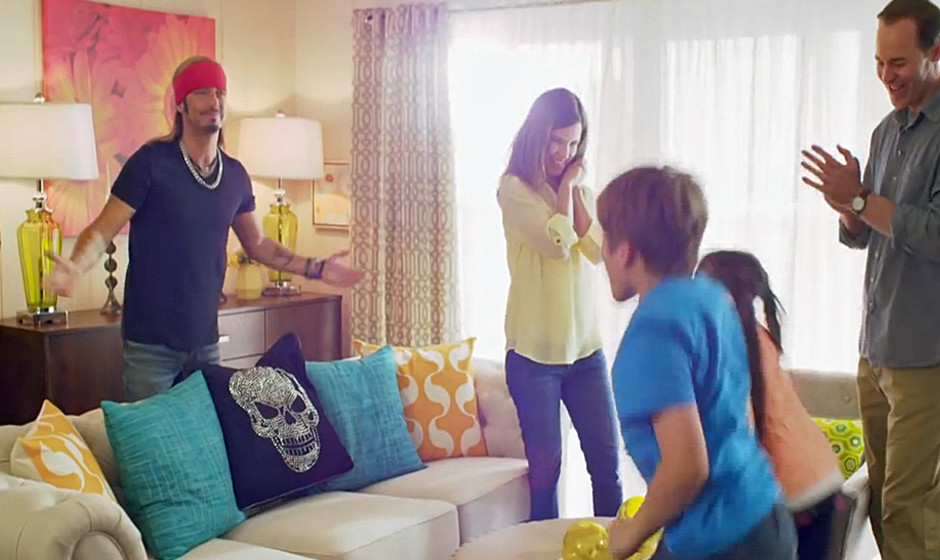 Brett Michaels (Poison) in Trailer für 'Mother's Day Spa Getaway With Bret Michaels'