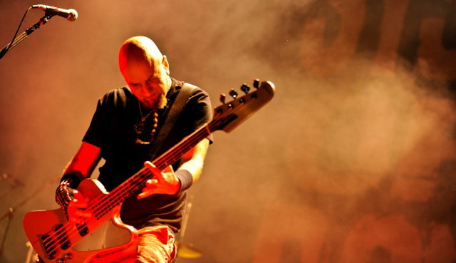 System Of A Down-Bassist Shavo Odadjian, hier live bei Rock am Ring 2011