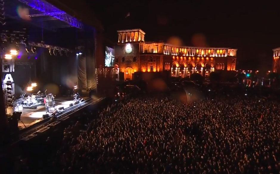 System Of A Down-Konzert in Armenien vom 24. April 2015