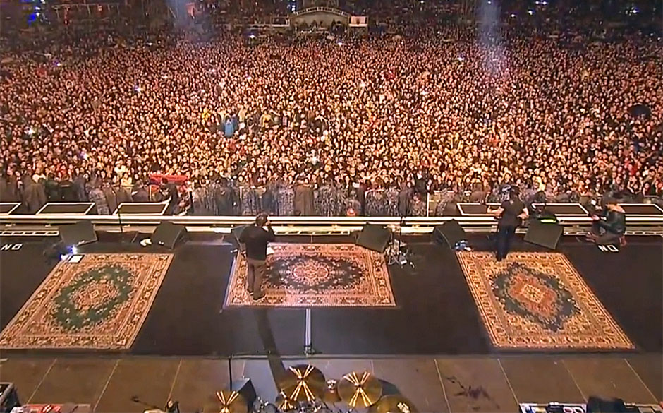 System Of A Down-Konzert in Armenien vom 24. April 2015