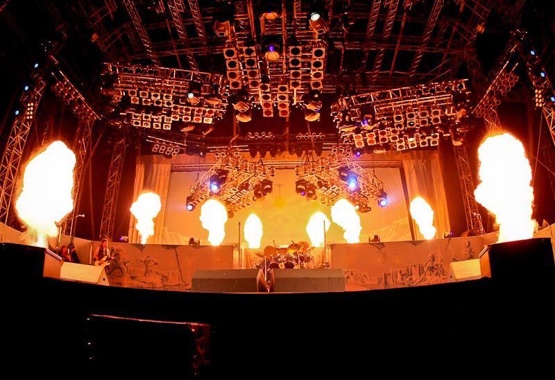 Iron Maiden live, Nova Rock Festival 2014