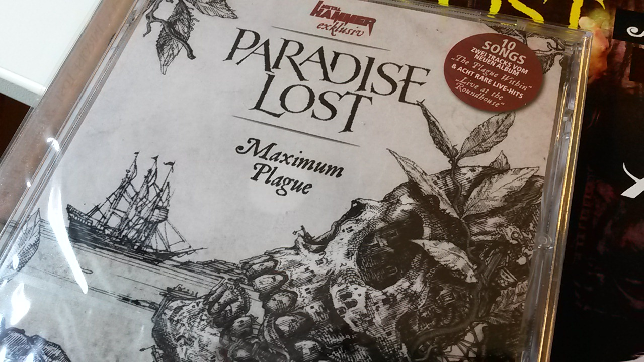 Paradise Lost MAXIMUM PLAGUE