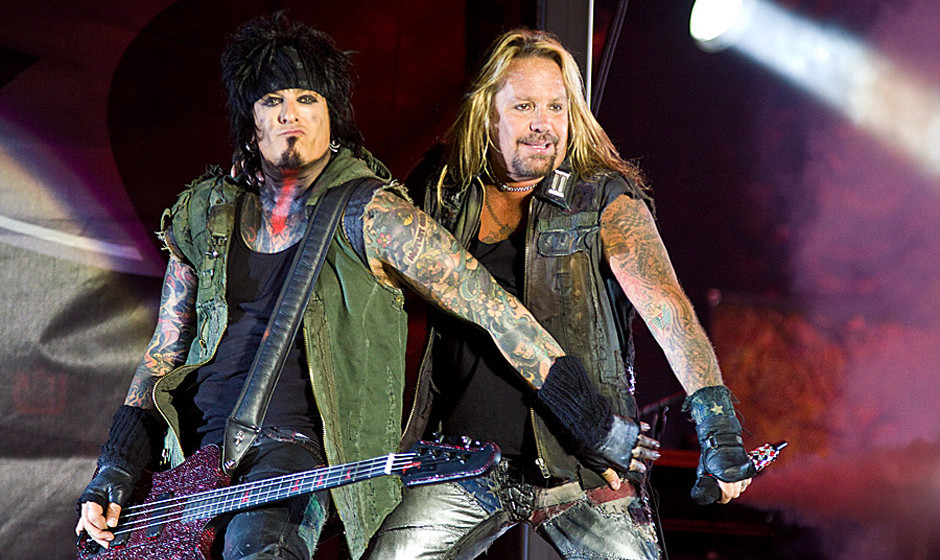 Mötley Crüe live beim Sweden Rock