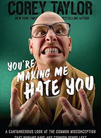 Cover des neuen Corey Taylor Buches
