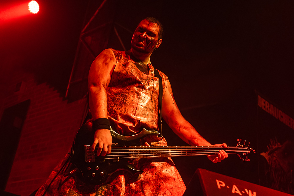 Debauchery + Blood God live, 31.10.2014, Nürnberg