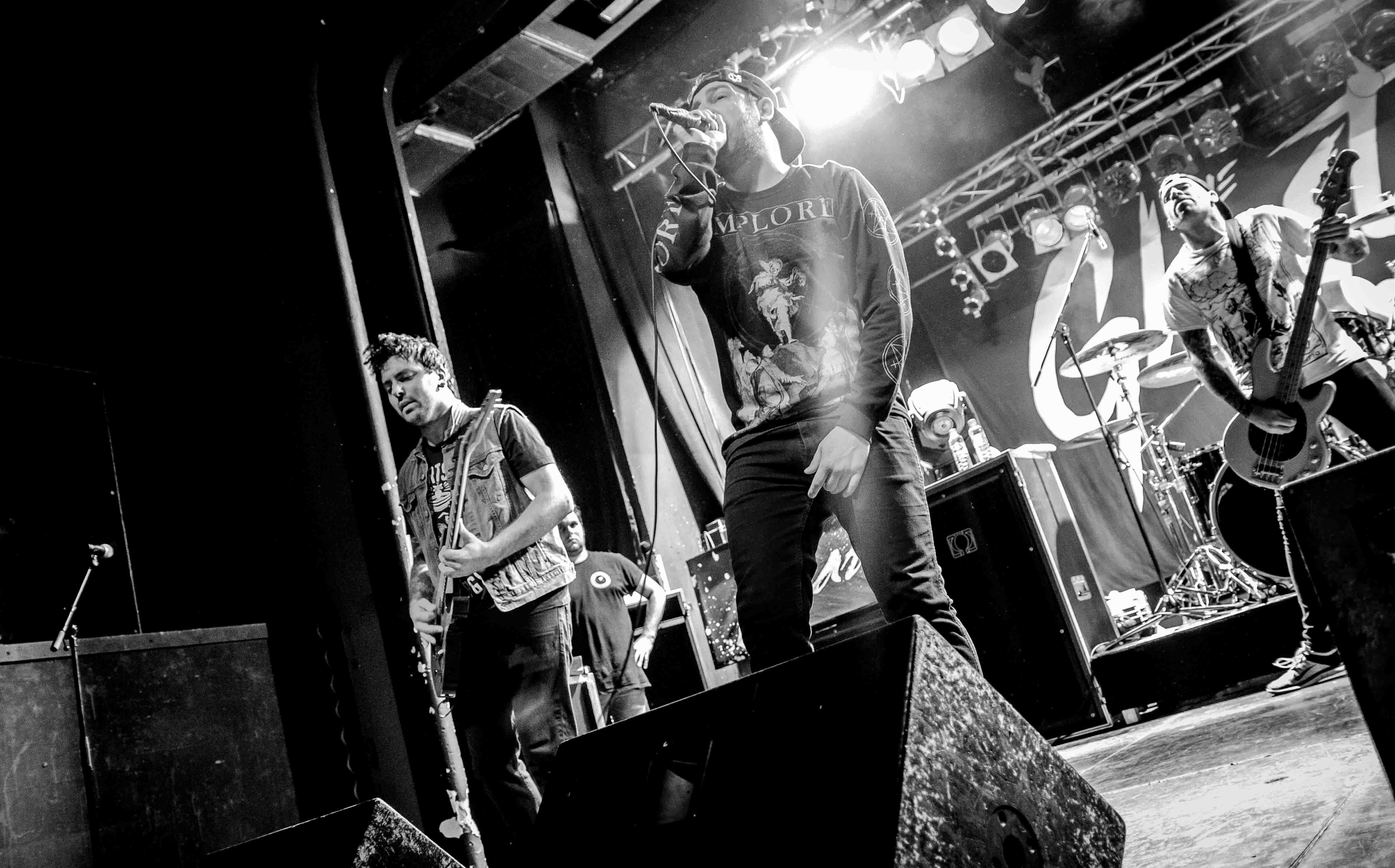 The Ghost Inside live, 28.04.2015, Berlin