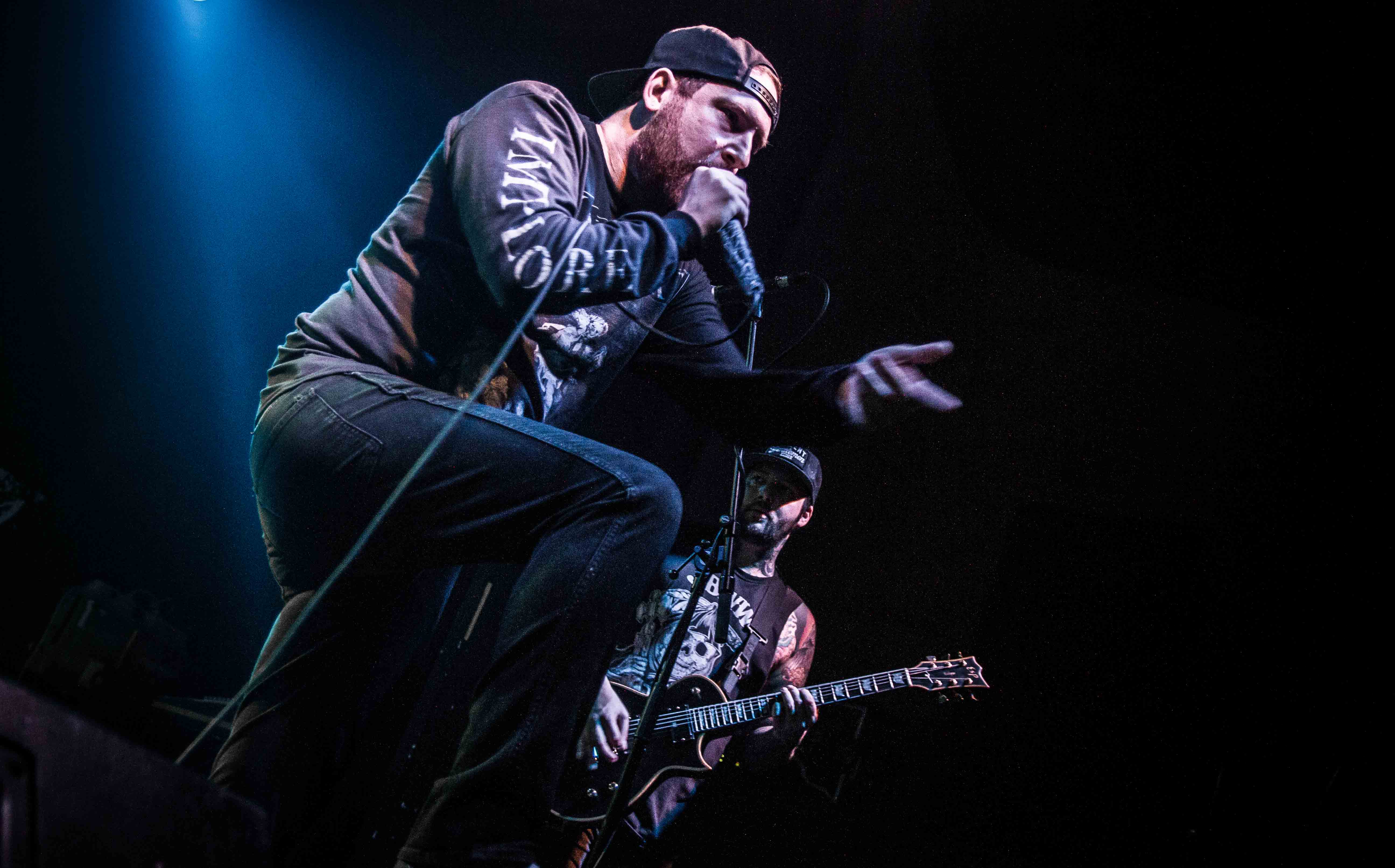 The Ghost Inside live, 28.04.2015, Berlin