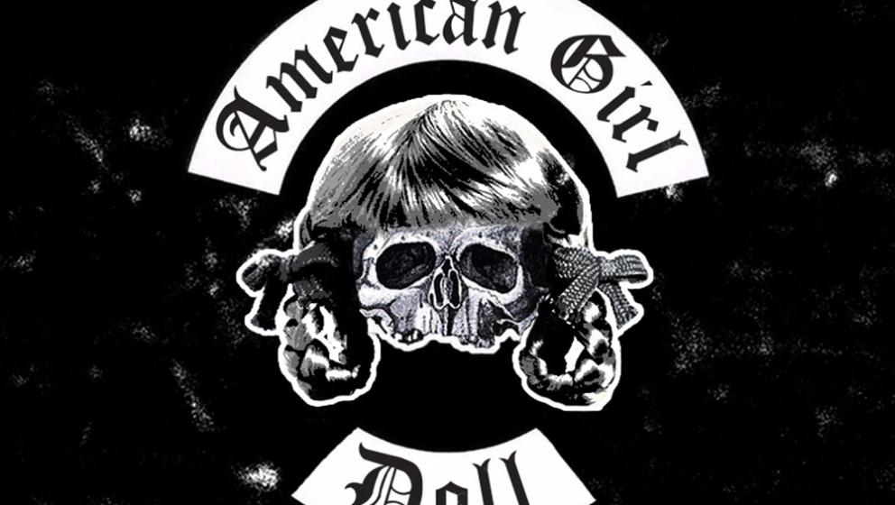 American Girl Doll als  Metal-Logo
