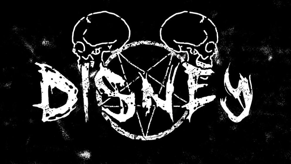 Disney als Metal-Logo