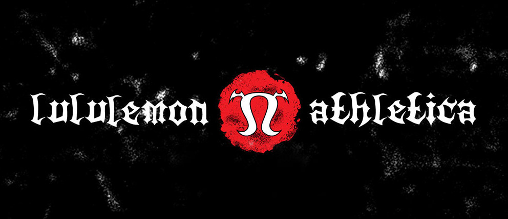Lululemon Athletics als  Metal-Logo