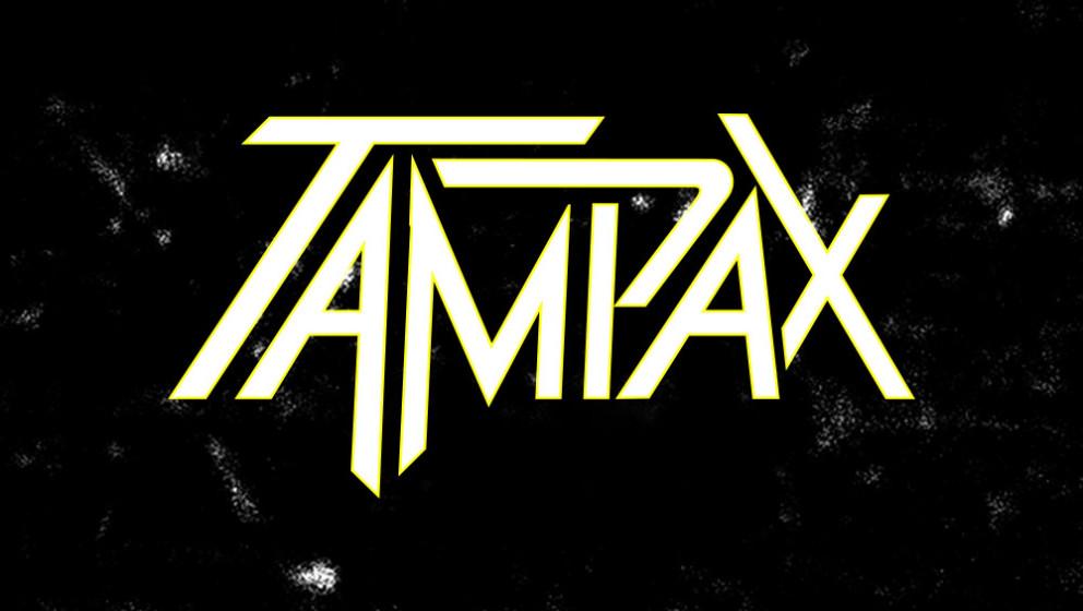 Tampax als Metal-Logo