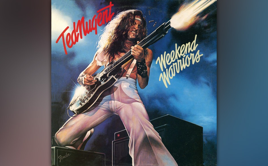 Ted Nugent WEEKEND WARRIOR (1978)